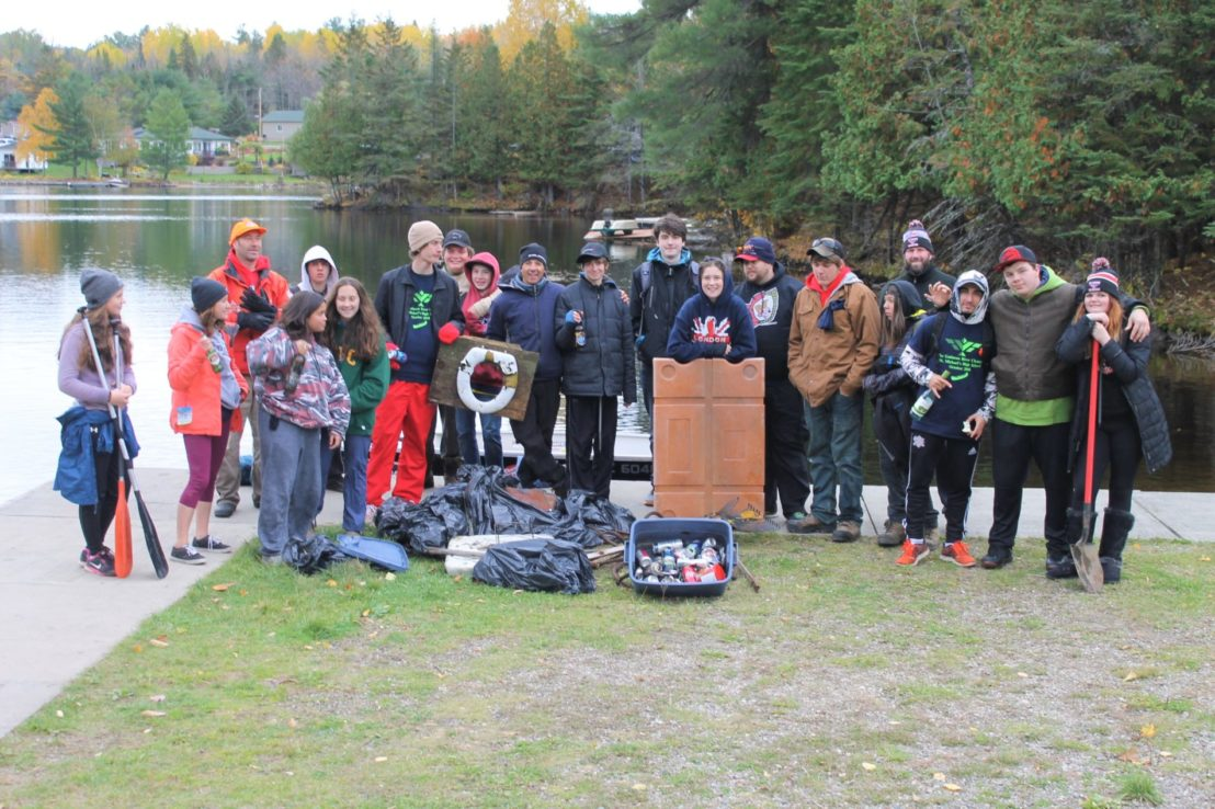 2018 Gatineau River Clean-up